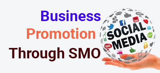 Business Promotion Through SMO(Social Media Optimisation)